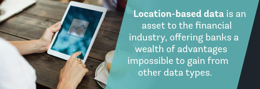 location data financial industry